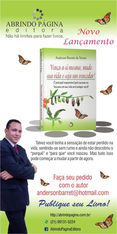 2016, meu livro publicado!