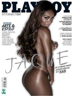 Capa Playboy - Jaqueline BBB11 - Maio 2011