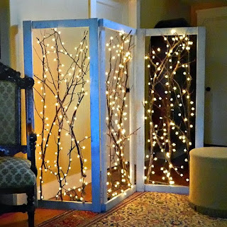 DIY Tree Light Divider