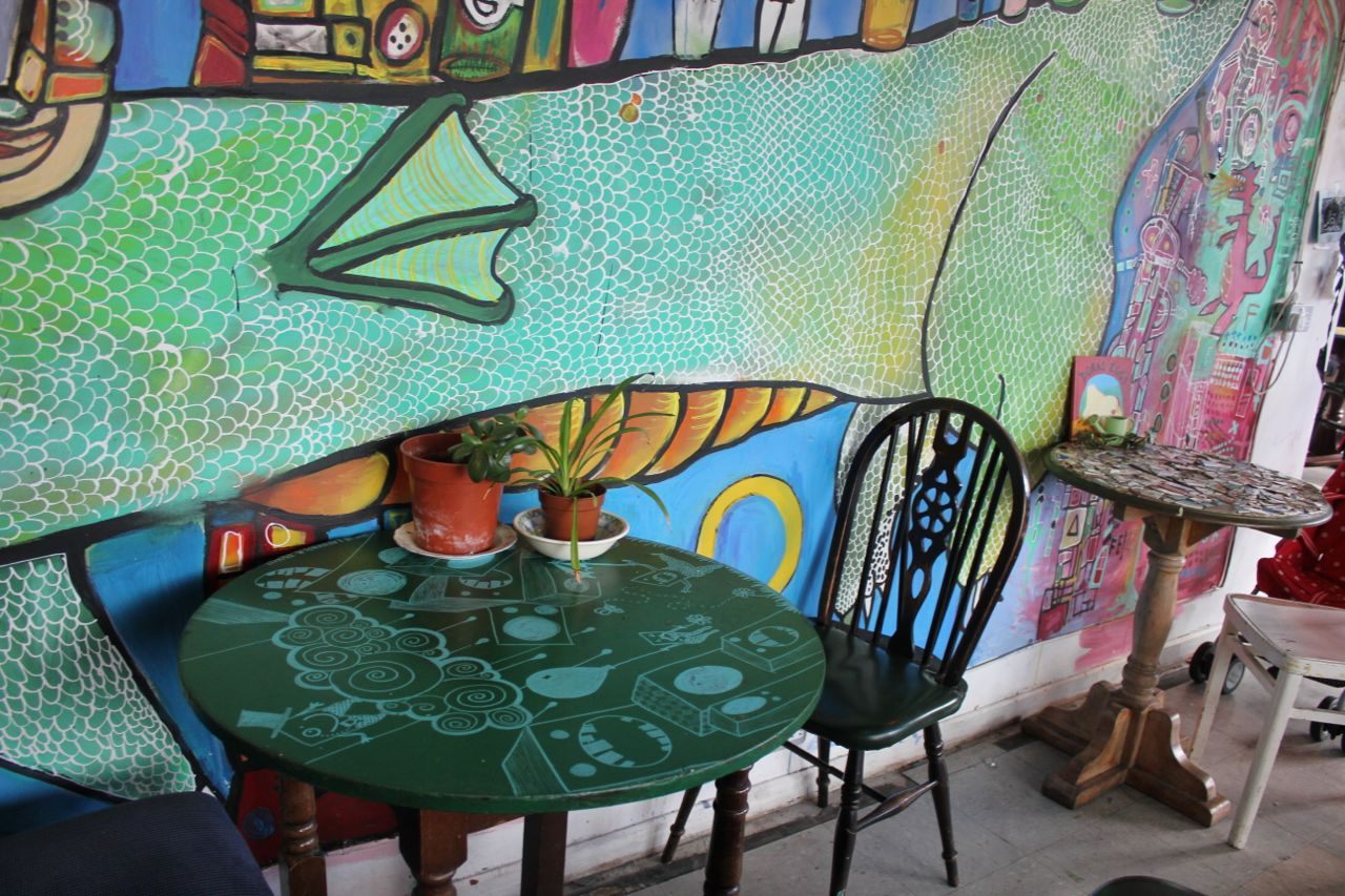 Green Gourmet Giraffe: Edinburgh - Forest Cafe, Kings Theatre and St ...
