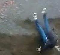 video de caida