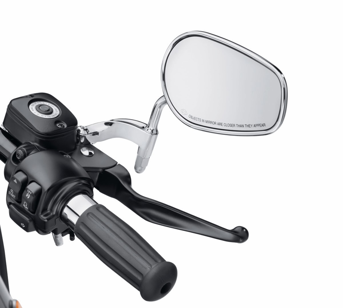 Details About Motorcycle Black Mirror Extensions Stems