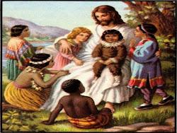 Jesús a los niños del mundo