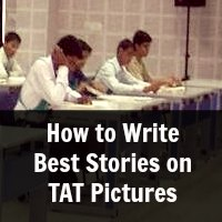 How to Write Best Stories on TAT Pictures