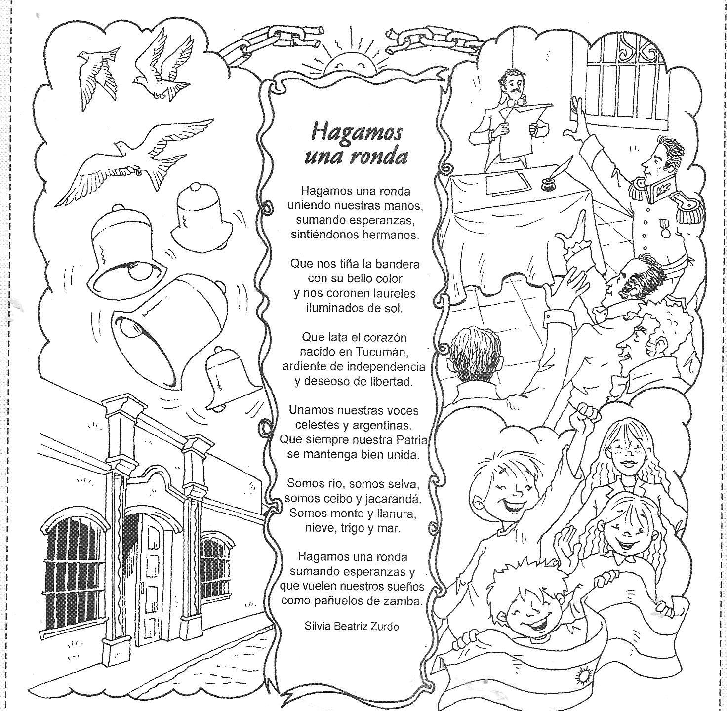 Poesia De Manuel Belgrano Para Nivel Inicial