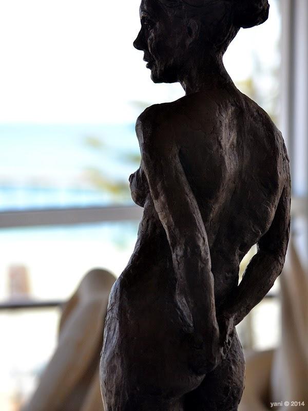 rough statue