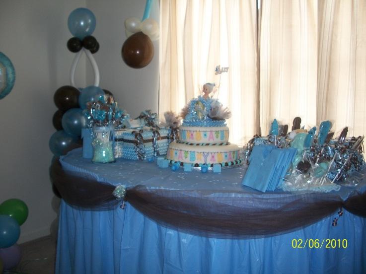 Imagenes mesas decoradas para baby shower - Imagui