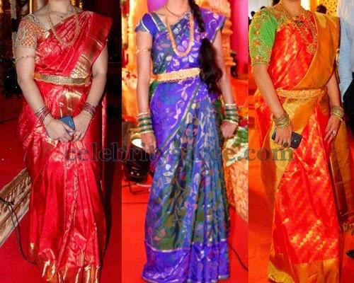 Uppada and Kanjivaram Chic Sarees