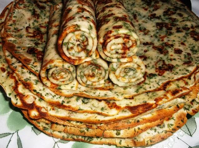 Сырные блинчики с зеленью очень простой рецепт пошагово