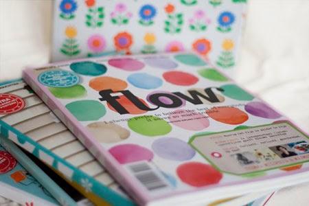 verzamelband Flow magazine met de nummers van 2013
