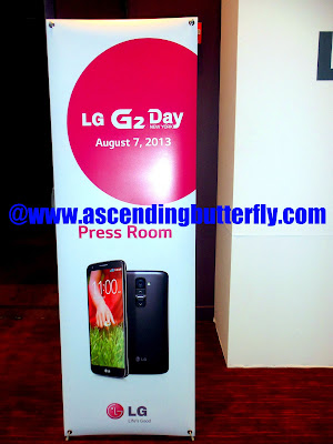 LG G2 Smartphone Global Launch, August 7th 2013, New York City