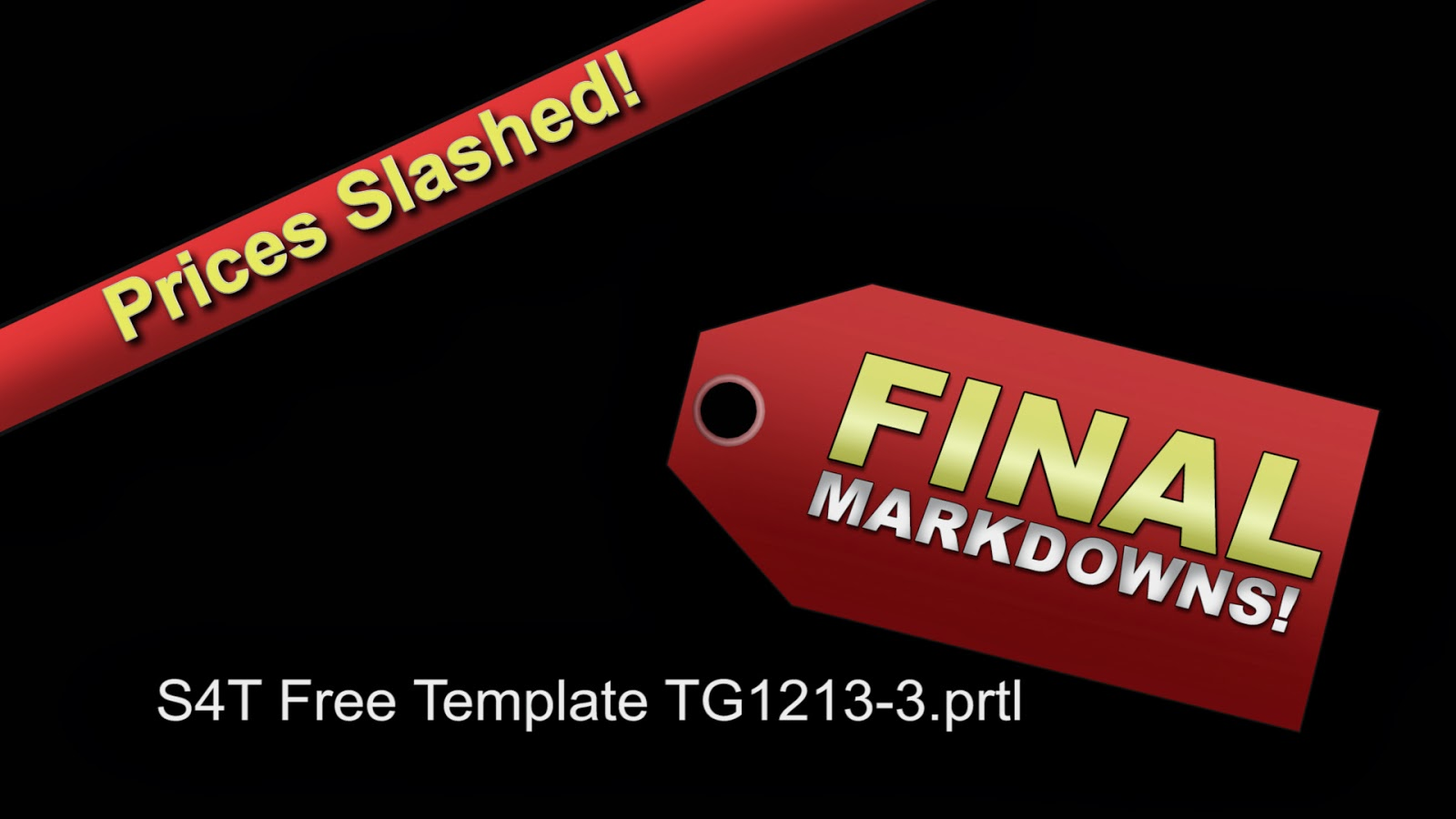 Style4type free s4t premiere pro title template final markdowns for Premiere pro title templates free