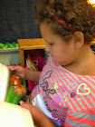First Graders LOVE to Read!