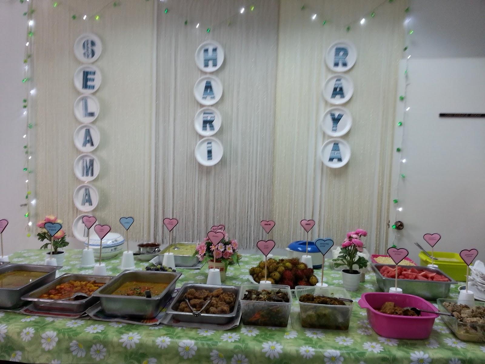 elaine's tender loving cakes: hari raya open house 2015