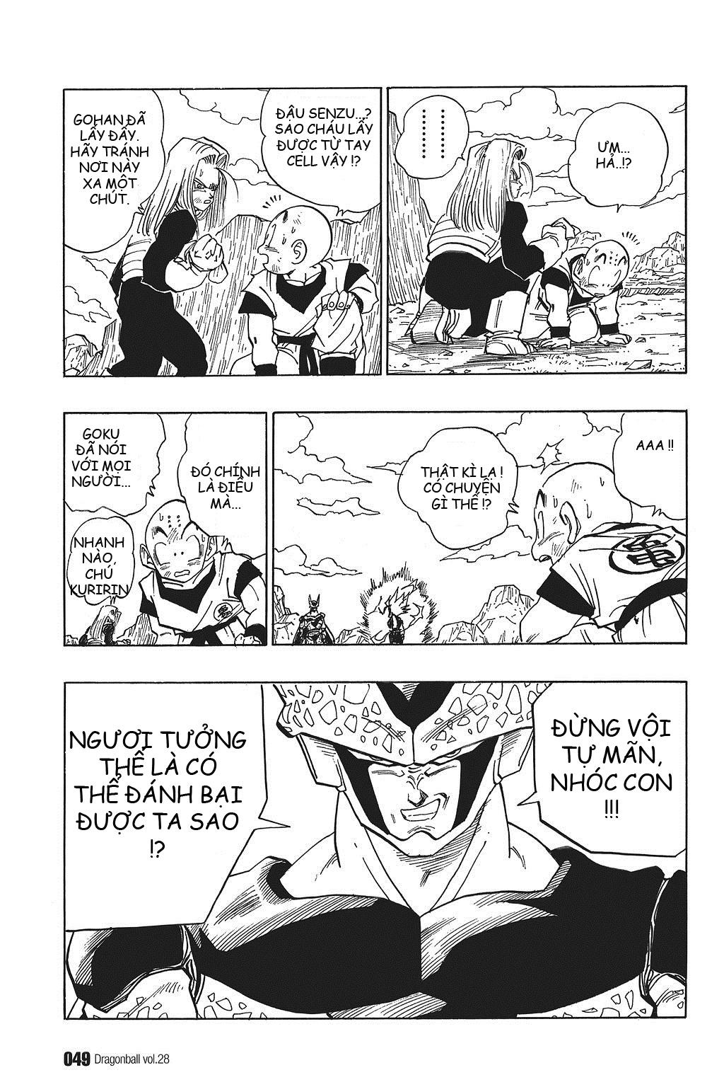 xem truyen moi - Dragon Ball Bản Vip - Bản Đẹp Nguyên Gốc Chap 409