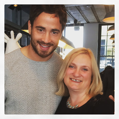 MAdmumof7 with Sales Sharks & England rugby star Danny Cirpriani