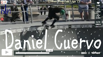Daniel Cuervo, Skateboarding video, Madrid skateboards, Venice Skatepark