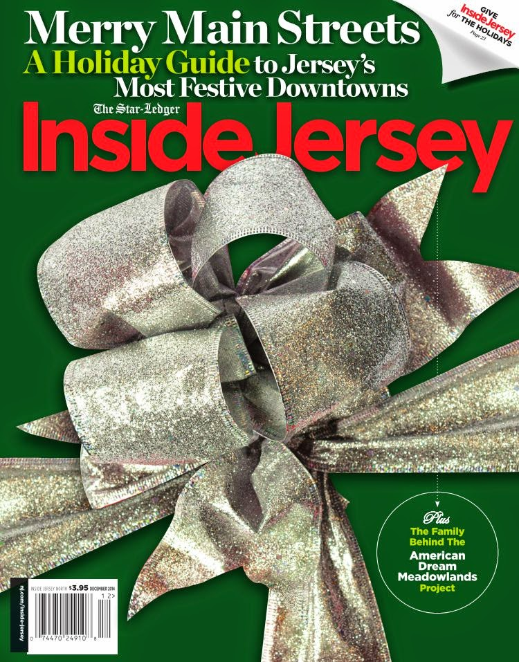 I'M FEATURED IN DECEMBER'S INSIDE JERSEY MAGAZINE