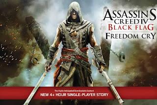 تحميل لعبة Assassins Creed IV Black Flag Freedom Cry Addon DLC كاملة مع الكراك للكمبيوتر مجاناً