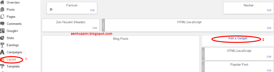 Memasang Widget Jadwal Sholat di Blog