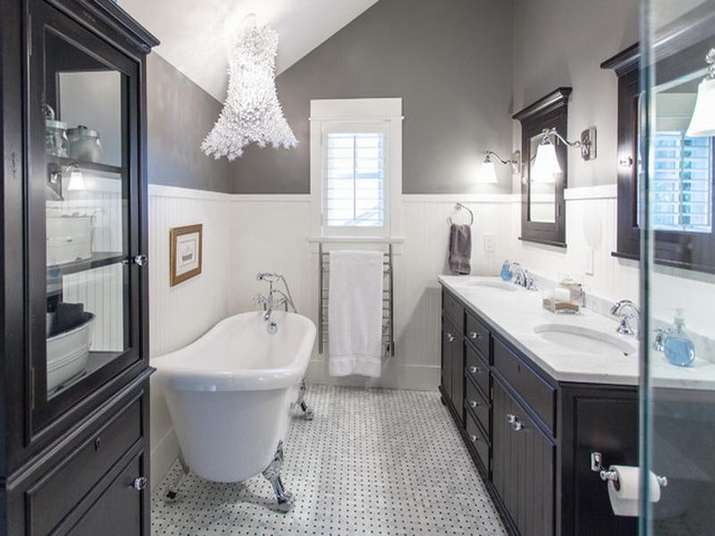 Wonderful The Espresso Color Could Give Warmer Nuance To Country Bathroom Style  Exactly There Are Many Bathroom