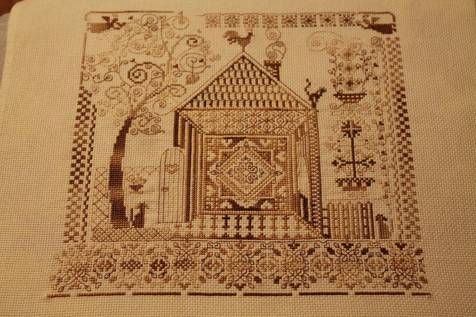 Оберег домашнего очага - Каталог схем для вышивки крестом 41