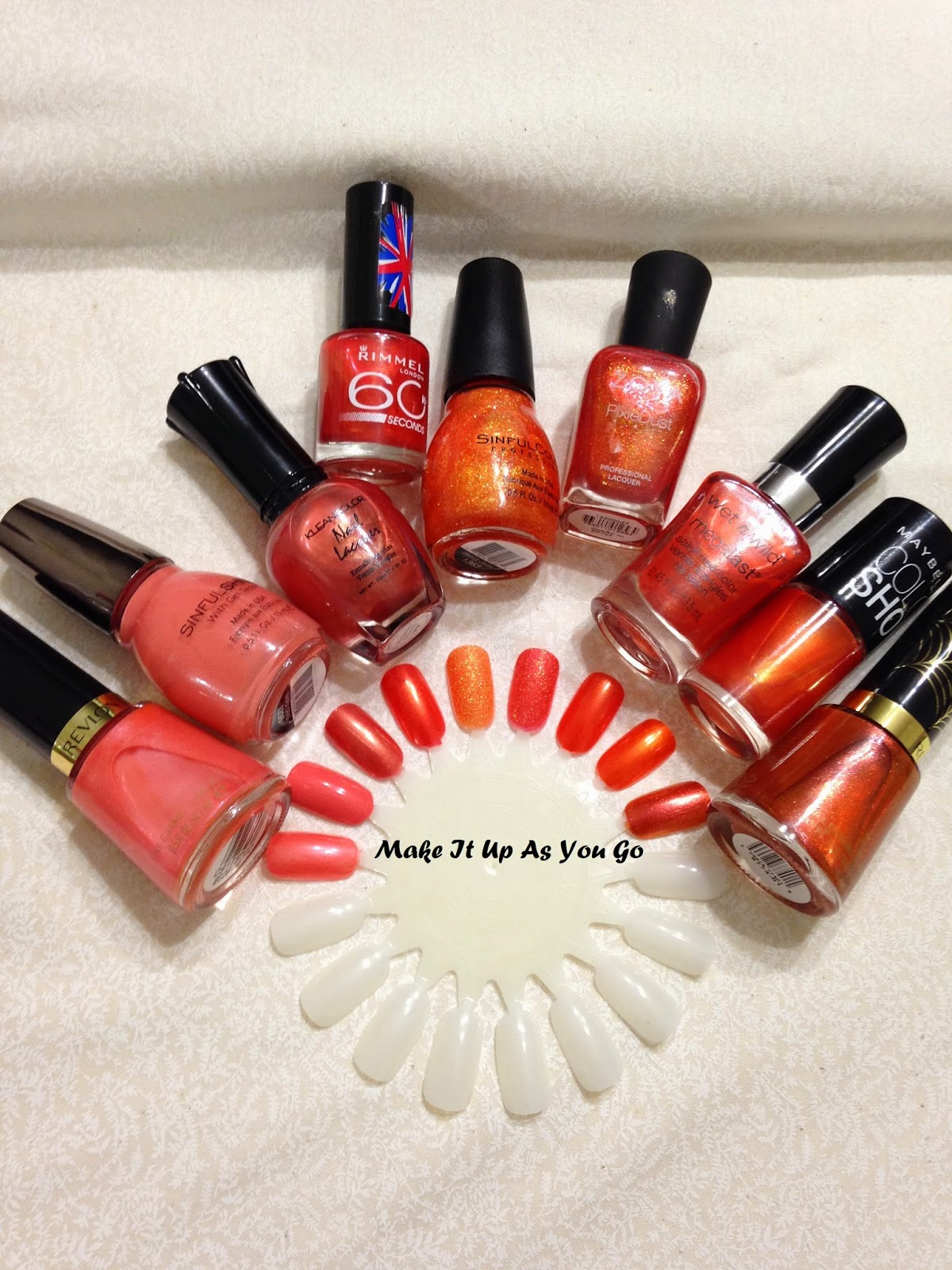 Make It Up As You Go: Sunday Funday - Fall Nail Colors