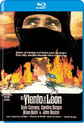 The Wind And The Lion 1975 BD25 Spanish