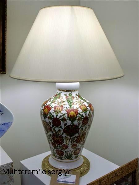 porselen abajur