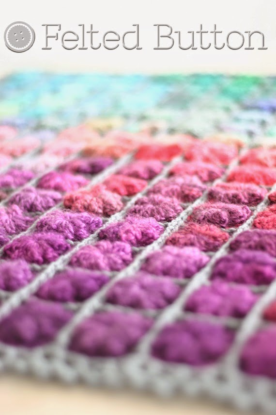 Painted Pixels Blanket (crochet pattern by Susan Carlson of Felted Button)