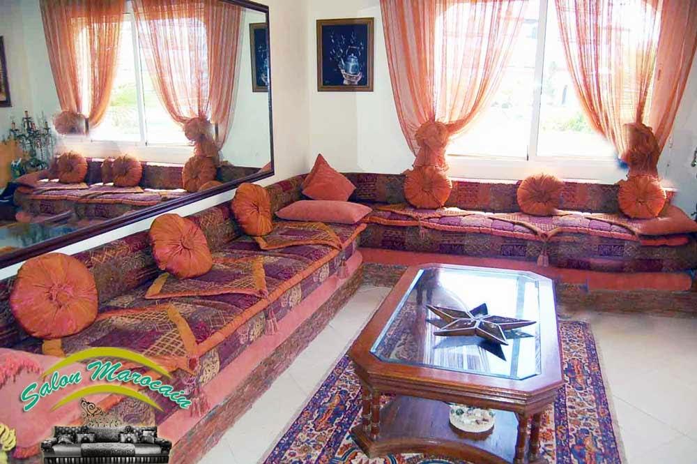 Salon marocain mirroire