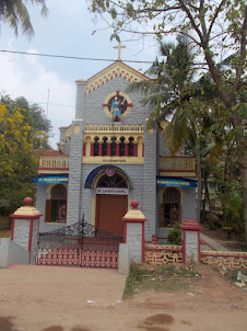 St Xaviers Chapel  at  Alappuzha beach.