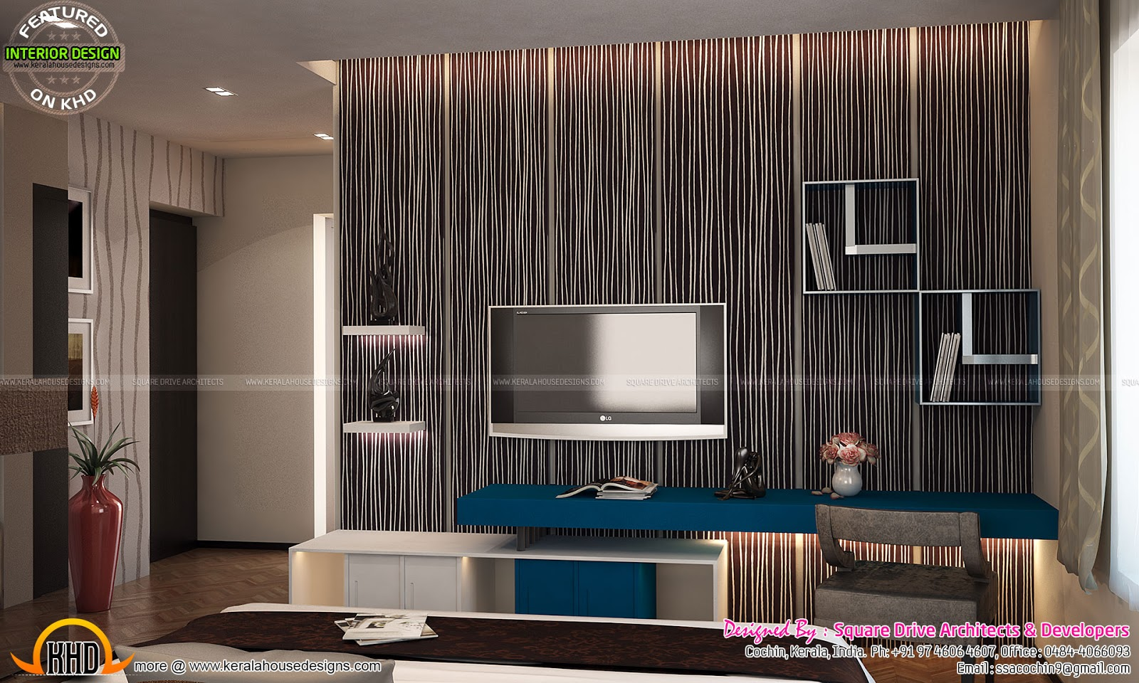 Tv unit for bedroom
