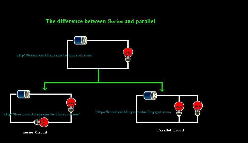 Free Circuit Diagrams 4u  Parallel And Series Circuit Diagrams