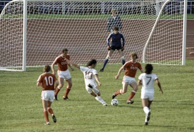 fútbol durante la Unión soviética