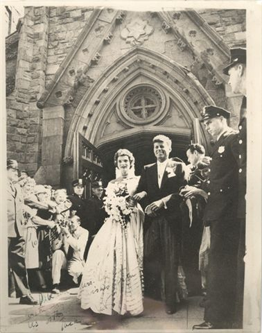jacqueline bouvier wedding
