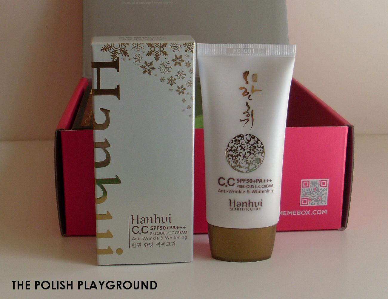 Memebox Special #8 Oriental Medicine Unboxing - Hanhui CC Cream