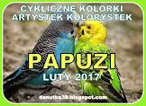 W lutym: papużki