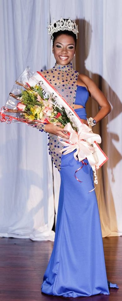 Señorita Mundu Korsou Miss Curacao World 2013 Xafira Korsou
