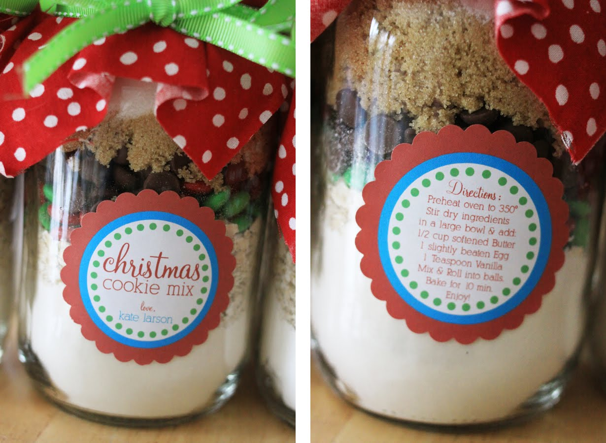 The Larson Lingo Christmas Cookies In A Jar