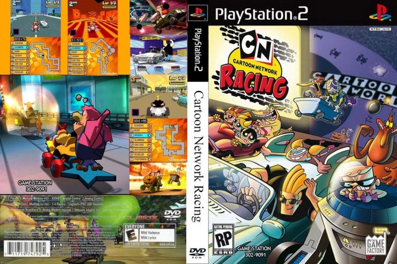 Cartoon Network Racing Playstation 2 Psx2 Avntura