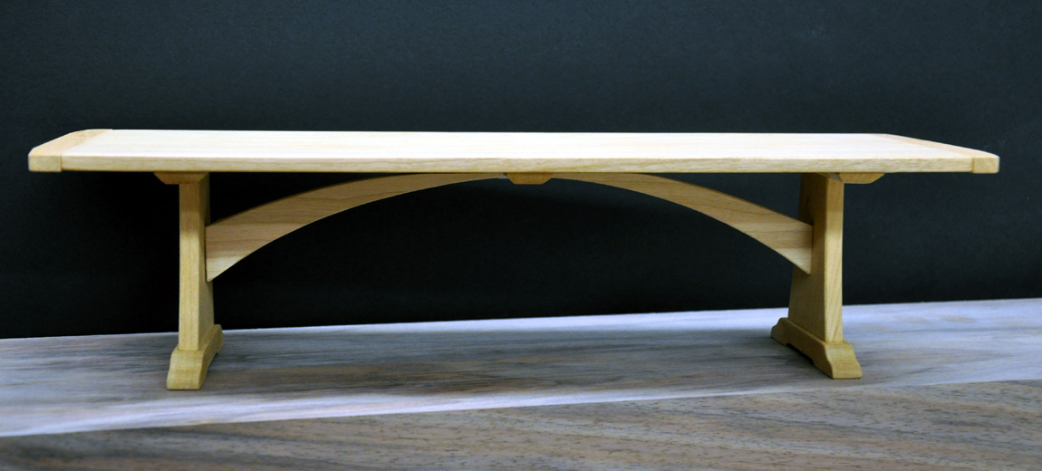 The Concept Was Loosely Based (with A Few Modifications) On A Table We Made  In The Early 90s. The Clients Nixed The Lower Crossbar And The Verticals In  The ...