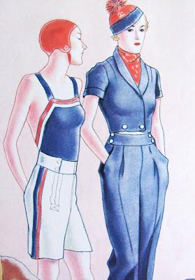 1930's Sailor style