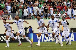 Honduras Semifinales Copa de Oro 2011