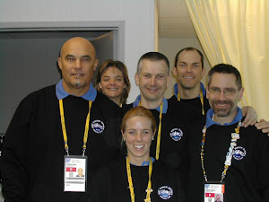 "GENO WITH OTHER MEMBERS OF THE: ""WORLD&#39;S MASSAGE TEAM"""