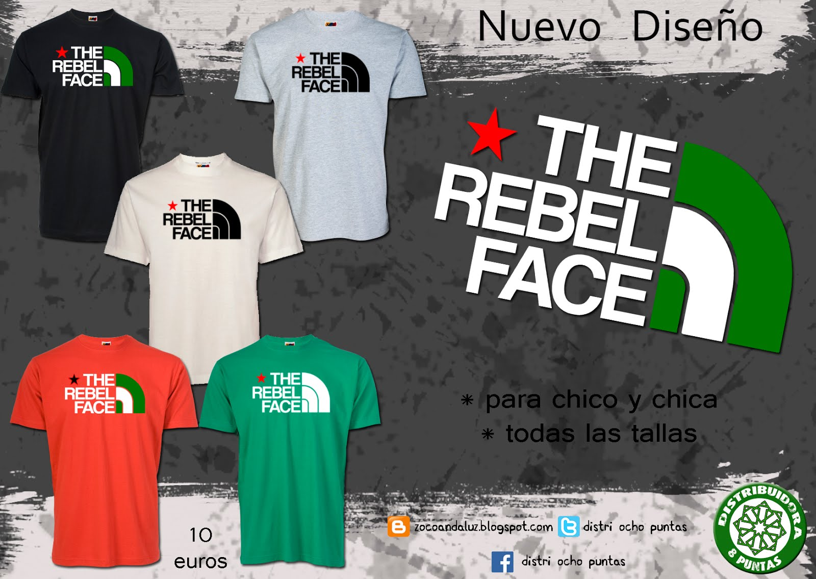 Camiseta The Rebel Faces