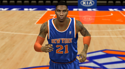 NBA 2K14 Iman Shumpert Cyberface Mod