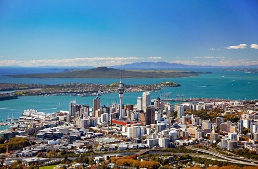 Auckland City New Zealand 10 cities to visit in the year 2014