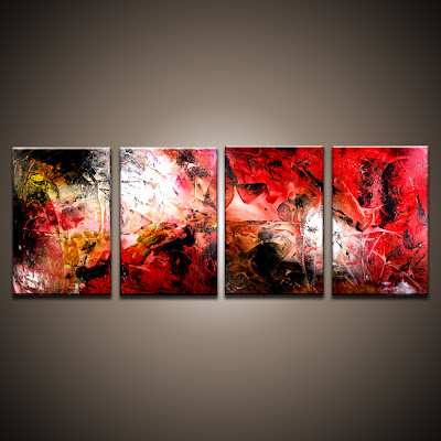 Acrylic and oil paintings by Peter Dranitsin Creating
