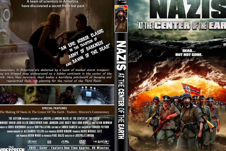 Zombie Hall.: Nazis at the Center of the Earth.